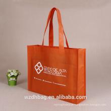 Saco não tecido reusável de alta qualidade do presente do saco da promoção do saco de compras