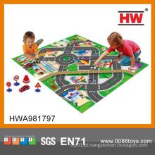 2015 Novo Design Traffic Play Jogo Carpet Crianças
