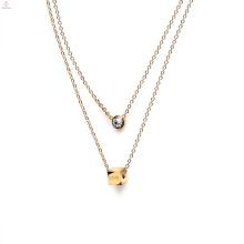 1 3 8 10 15 до 20 грамм 18К 14К ювелирных изделий конструкции модели Золотое ожерелье для женщин девушки ювелирные изделия