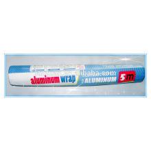 kitchen aluminium foil roll color film wrap