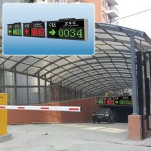 Écran d'orientation extérieur de système de stationnement intelligent de voiture LED