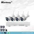 4CH 1.0 / 2.0MP Home Security Wifi NVR Kit