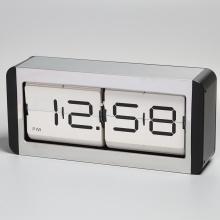 Grande horloge de table en métal