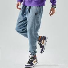 Version lâche de loisirs Bundle Foot Fashion Jeans