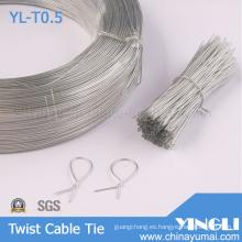 Claro Cable de ligadura de forma redonda (YL-T0.5)