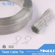 Effacer le lien de câble torsadé forme ronde (YL-T0.5)