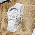Горячая Распродажа Ретро Леди Наручные Часы Нестандартная Конструкция Водонепроницаемые Наручные Керамические Часы