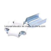 Lift/Elevator Compensating Chain Guide Roller Device