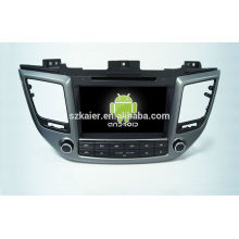 Quad-Core! Auto-DVD mit Spiegellink / DVR / TPMS / OBD2 für 8-Zoll-Touchscreen-Quad-Core 4.4 Android-System Hyundai IX35 2015
