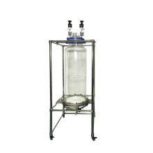 50L 100L low price lab glass reactor Vacuum Filter system