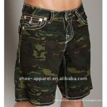 2013 Fashion duarable men army shorts wholesale