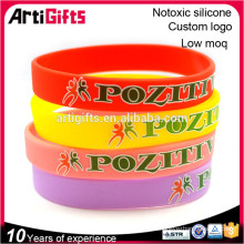 Wholesale new fashionable silicone bracelets bangles