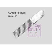 50 Набор готовых стерильных игл для татуировки, на баре / плоских иглах