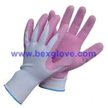 Latex Foam Garden Glove