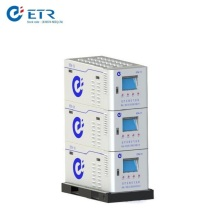 Sistema de aire comprimido médico compactado profesional