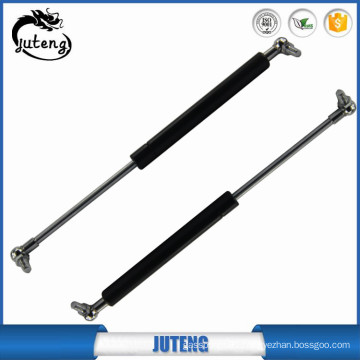 Pneumatic lift support strut with nylon ball for tooling case