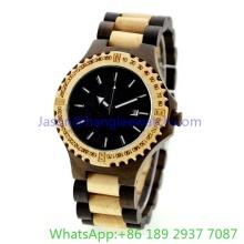 Montre en bois de haute qualité, montres à quartz (HLJA-15162)