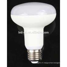 Super lumineux, bon prix, r80, conduit ampoule 9w e27 e26 pour la maison à l'aide de