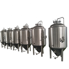 2000L 5000L 10000L Craft beer fermenting equipment large Stainless steel 304 Conical beer fermenter/storage tanks