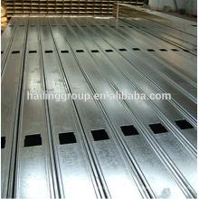 Canal C galvanizado en metal de pared seca