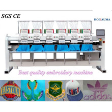 HOLiAUMA Good Quality 6 Head 15 Needles Commerce & Industry Computerized Embroidery Machine For Commercial and Industrial Using