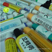 Алюминиевые упаковочные трубки фармацевтические трубы Unguent трубы