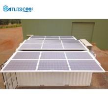solar refrigerated cold room freezer