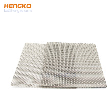 HENGKO high quality microns porous sintered stainless steel wire mesh filter plate for multipurpose purification and filtration