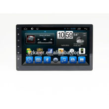 Reproductor de DVD del coche quad core android, wifi, BT, enlace espejo, DVR, SWC para 10.1 pulgadas universal