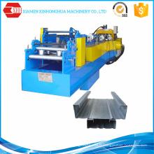 Construction en acier Utiliser C / Z Purlin Forming Machine