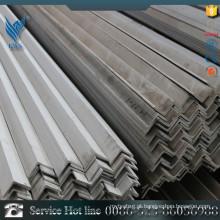 201 barras de ângulo em conserva de aço inoxidável iguais com certificação CE