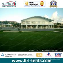 Luxury outdoor Arcum Roof VIP Lounge Double Decker Tent for 2016 Puerto Rico PGA Golf Event
