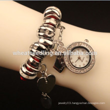 2014 Newest arrival high quality love pendant rope chain watch supplier