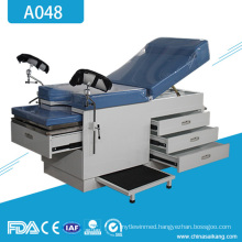 A048 Meidcal Gynecology Obstetrical Delivery Bed Table
