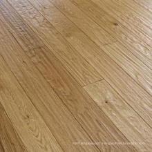 Handscraped UV Lacquer Engineered Oak Wood Flooring