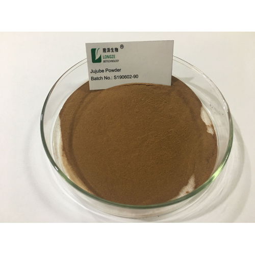 Natürliches Red Dates Pulver JuJube Extract Powder