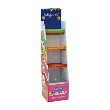 Display stand up in cartone multifunzione commerciale APEX