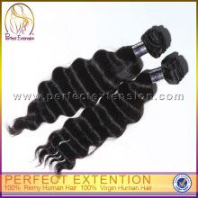 Полное кутикулы двойного переплетения цвет #2 дешевые девственной фигурные ткать 5А перуанский волос