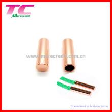 Punta de metal con cordón en oro rosa