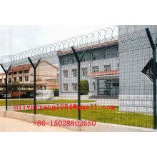 rasoir de concertina rouleau barbelé clôture de sécurité permanente de fil pour l'aéroport ou la protection de champ pétrolifère