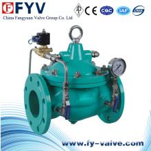 Válvula de control de encendido y apagado confiable del solenoide