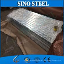 Stahlfliese G350 Z60 Gi verzinktes gewölbtes Stahlüberdachungs-Blatt