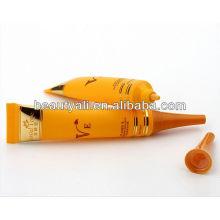Пластиковая трубка с длинным соплом для крема для глаз