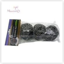 Purificador de aço inoxidável da bola da limpeza do purificador da limpeza da cozinha de 6 * 3cm Houselhold