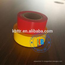 Machine d'emballage empaquetant l'aluminium de marquage à chaud noir 35mm * 100m