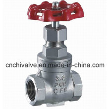 Stainless Female Thread Gate Valve Stainless Steel
