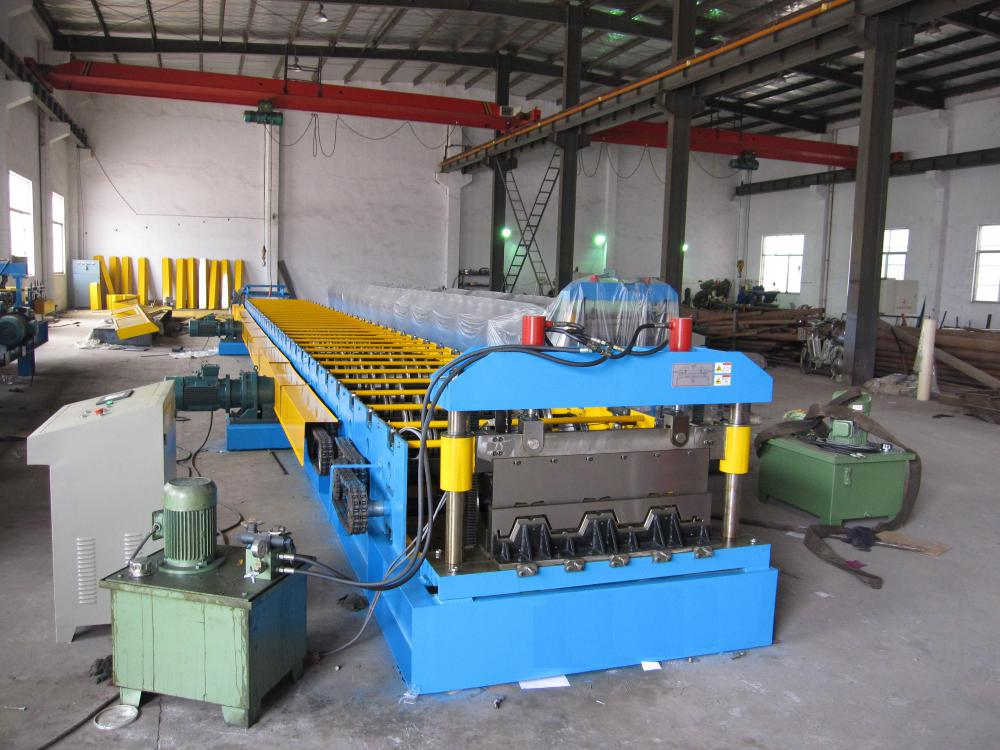 High Efficiency Floor Deck Tile Roll Forming Machine