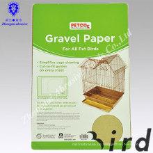 China Umweltfreundliches Haustierprodukt birdcage Sand-Holzpapier für Haustierkäfige