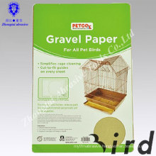 Eco-friendly Gravel Paper Cage Sand Paper for Pet Bird