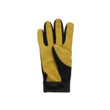 Hirsch Haut Leder Palm Mechanic Arbeit Handschuh-7308